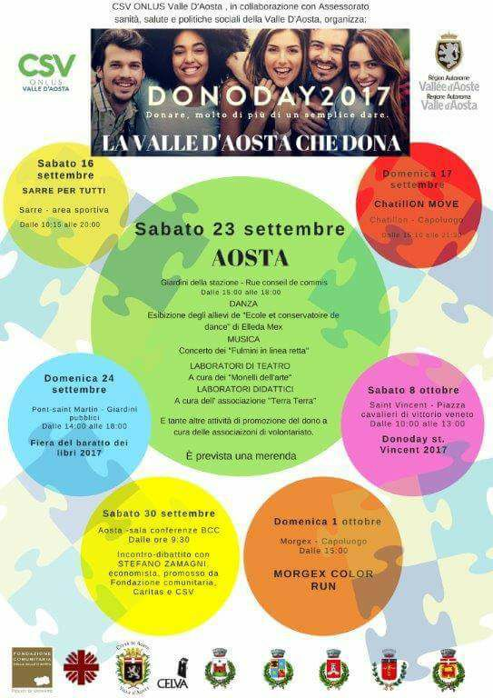 dono day aosta2017